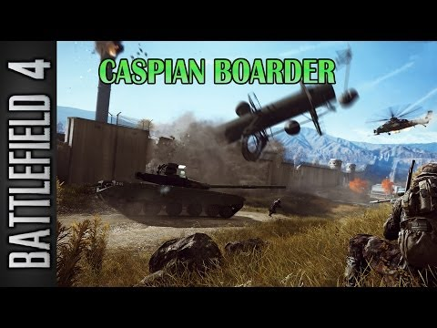 Battlefield 4: Second Assault | Tank Round (41-6) | Caspian Boarder: T-90A | Conquest Large