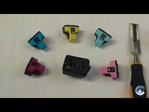 See What's Inside HP 363 Ink Cartridges