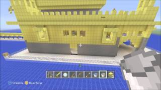 Minecraft Golden Temple Walk Around