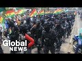 Police Join Protesters As Bolivia's President Calls It 'coup Attempt'
