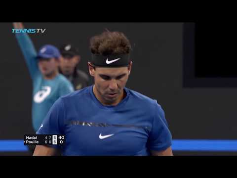 Nadal saves match points to win; del Potro, Zverev advance | Beijing 2017 Highlights Day 2