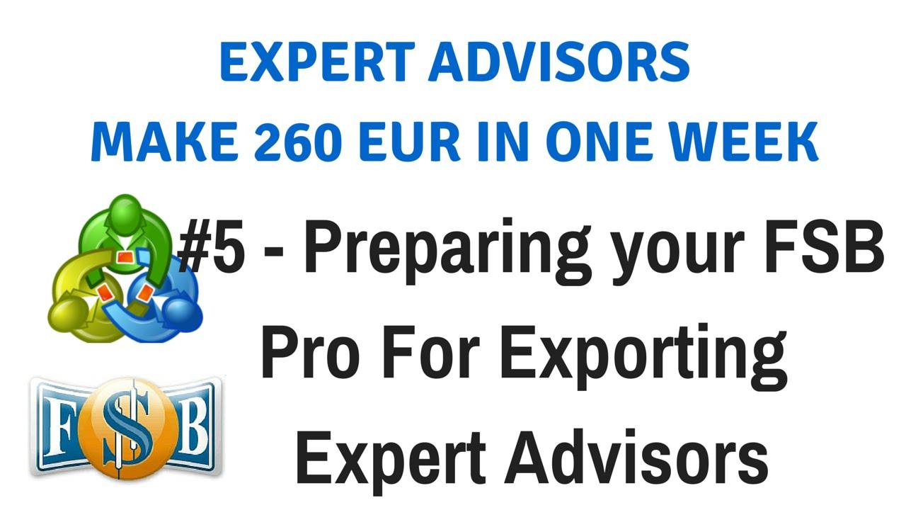 Forex advisor strategy builder 0.2