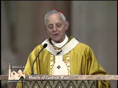 2013 Christmas Day Mass from National Shrine of the Immaculate Conception with Card. Wuerl