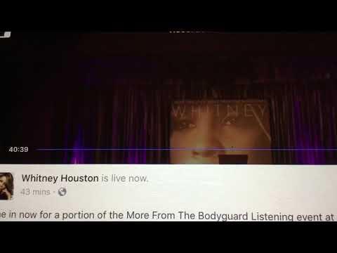 Whitney Houston Run to you live Radio city hall 1994 Snippet