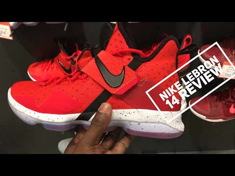 7c50e805ee2 Nike LEBRON 14 UNBOXING detailed look and on feet review