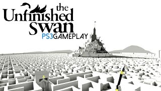 The Unfinished Swan Gameplay (PS3 HD)