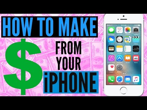How to make money from your iPhone!! Apps I use to make Money!