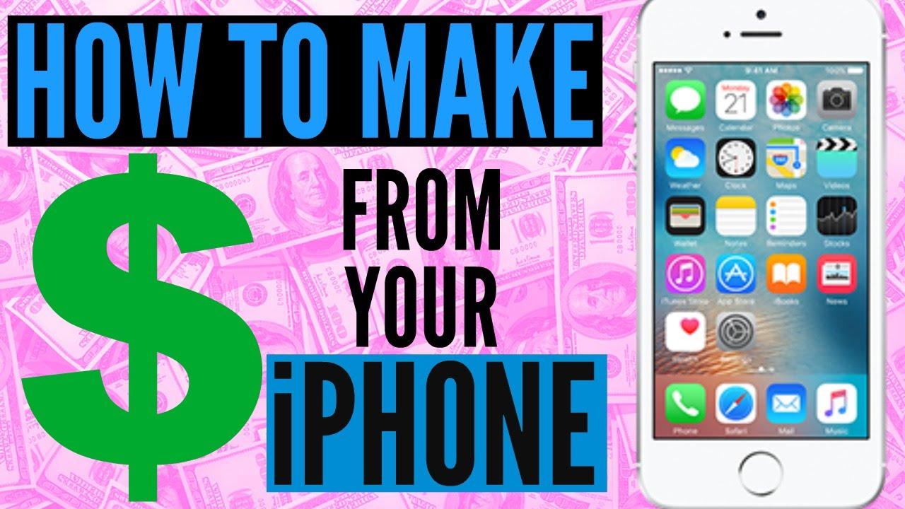 making money on youtube using phone
