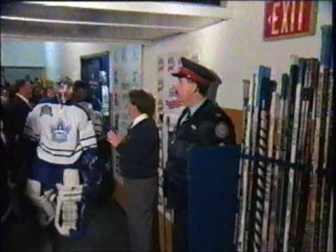LAST GAME AT MAPLE LEAF GARDENS PRE GAME PART 3