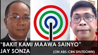"""Bakit Kami Maaawa Sainyo?"" Jay Sonza on ABS-CBN shutdown || Dante Maravillas Live Feb. 12, 2020"