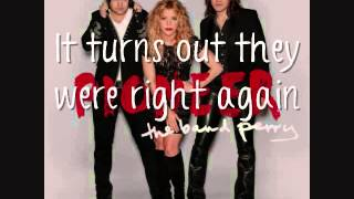 The Band Perry - Back To Me Without You [Lyrics On Screen]