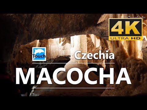 Punkevní jeskyně, Macocha - propast, gap, Czechia, 4K