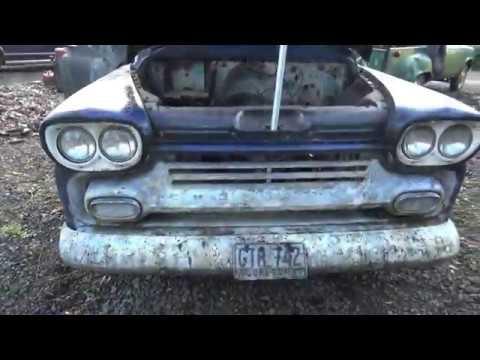 1958 Chevy Apache Fleetside Inspection