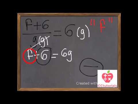 Literal Equations - Algebra (Easy Explanation)