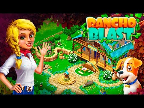 Rancho Blast Gameplay Android Game Like Gardenscapes By WhaleApp