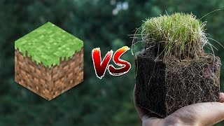 Repeat youtube video Minecraft vs Real Life
