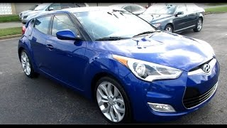 2013 Hyundai Veloster DCT Walkaround, Start up, Tour and Overview смотреть