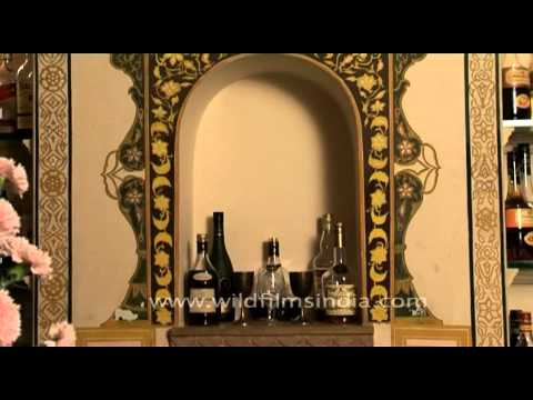 Handpicked collections for royal taste buds at Samode Palace's wine cellar, Rajasthan