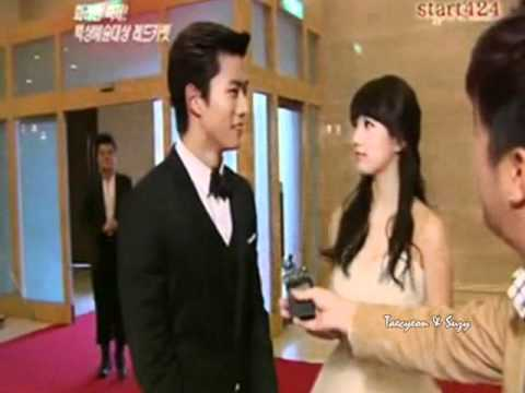 TAECYEON AND SUZY - MAYBE (on and off screen) - YouTube