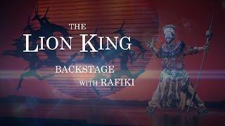 The Lion King Backstage - Rafiki