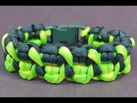 """Make the """"Crossed Claws"""" Paracord Survival Bracelet - Bored?Paracord!"""
