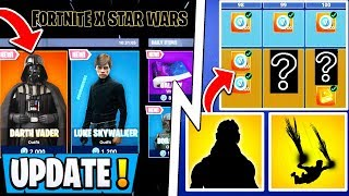 *NEW* Fortnite Update! | 8 S11 Battle Pass Items, Riot Shield, Star Wars Concept!