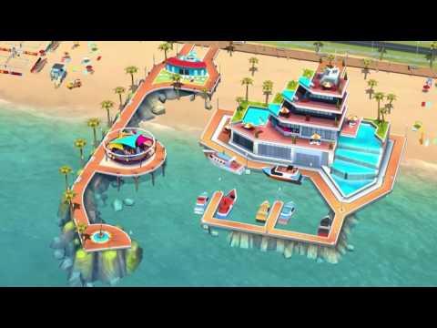 SimCity BuildIt   Beach Update Trailer