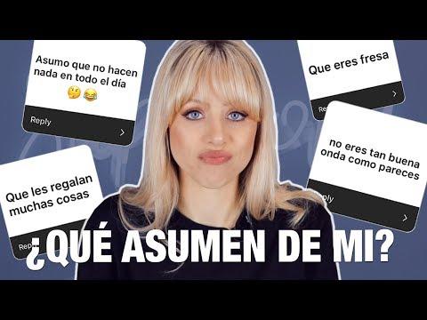 FRESA, PRESUMIDA, NO HACES NADA!? 😆 | COSAS QUE ASUMEN DE MI (Como YouTuber)