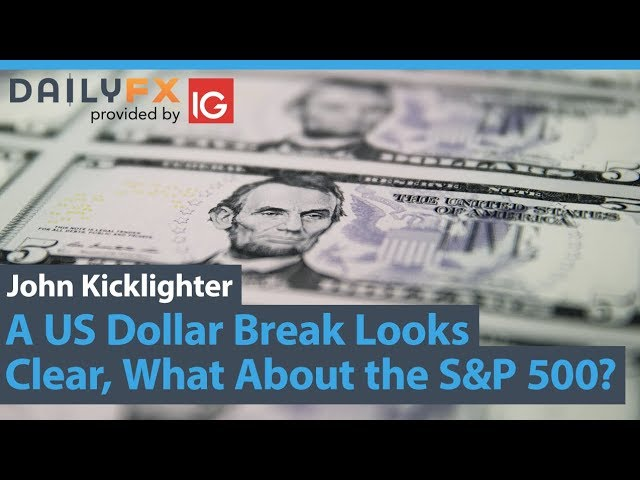 A US Dollar Break Looks Clear, What About the S&P 500? (Trading Video)