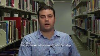 Ph.D. in Experimental Health Psychology at UMKC