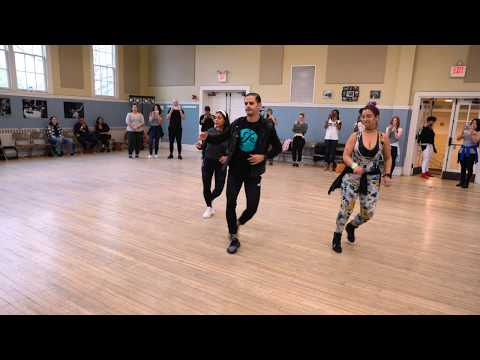 Hoja En Blanco | Bachata Demo With #JSquared And Paola In Boston!