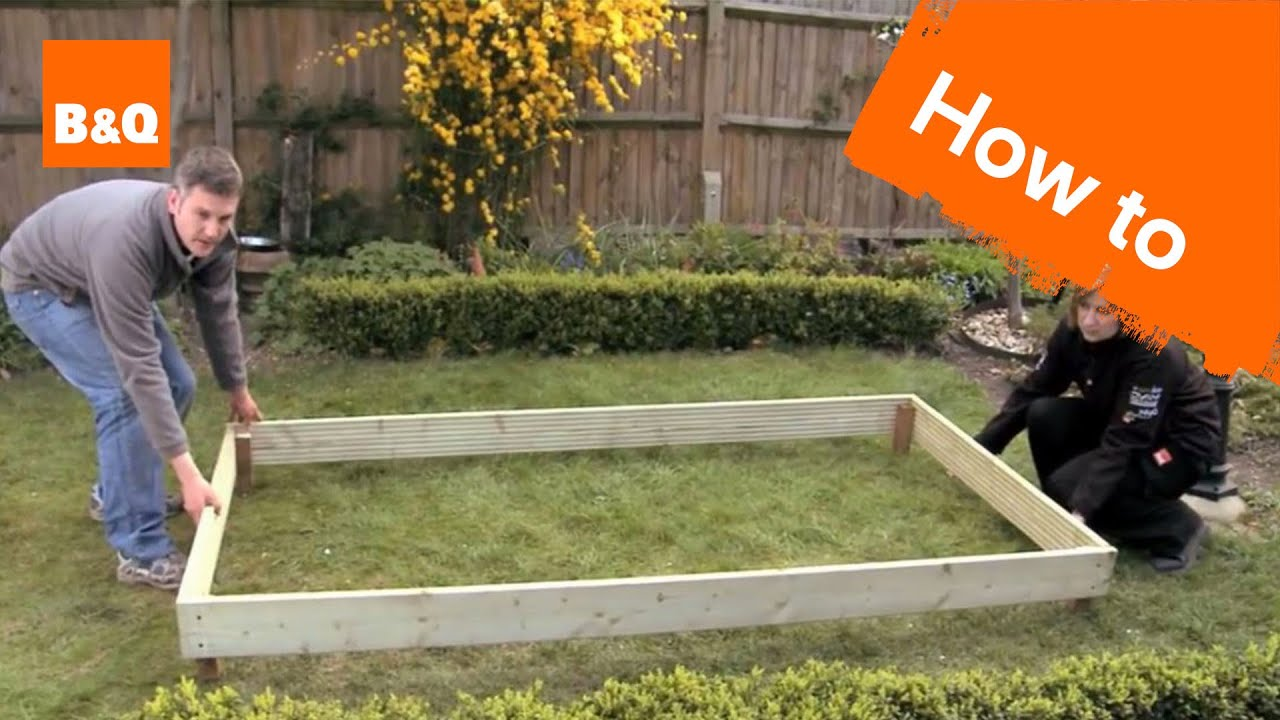 How To Build A Raised Bed Youtube