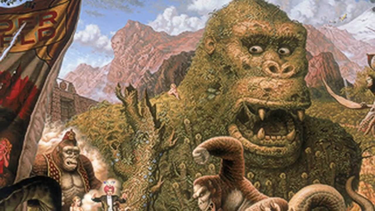 Todd Schorr American Surreal Ape Paintings Youtube