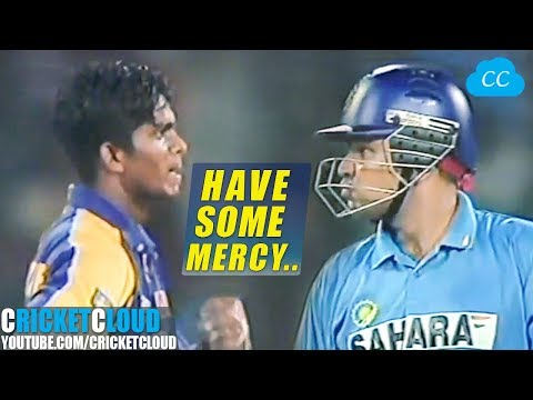 Sehwag please atleast leave One Ball | No Mercy for the Bowler !!