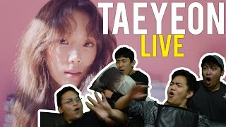 "Taeyeon's so ""FINE"" live stages! (Reaction) #taebaealltheway"