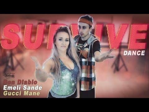 Don Diablo - Survive feat Emeli Sandé & Gucci Mane Dance - Patman Crew Choreography