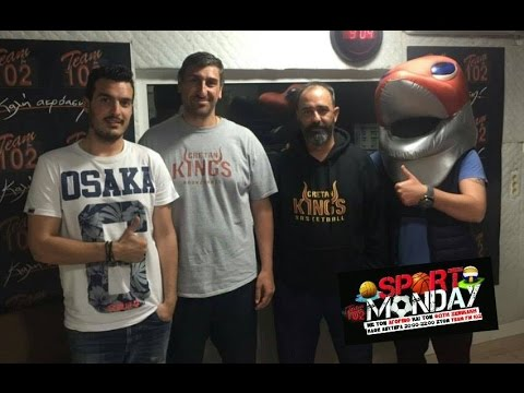 SPORT MONDAY ΕΚΠΟΜΠΗ 18 4 2016 CRETAN KINGS ASSIST BASKETBALL