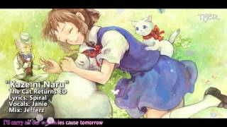 "[TYER] English The Cat Returns ED - ""Kaze ni Naru"" [Ft.Janie]"
