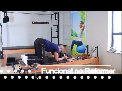 Exercícios de Treinamento Funcional no Reformer