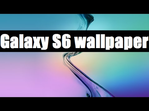 Samsung Galaxy S6 Stock Wallpapers DOWNLOAD