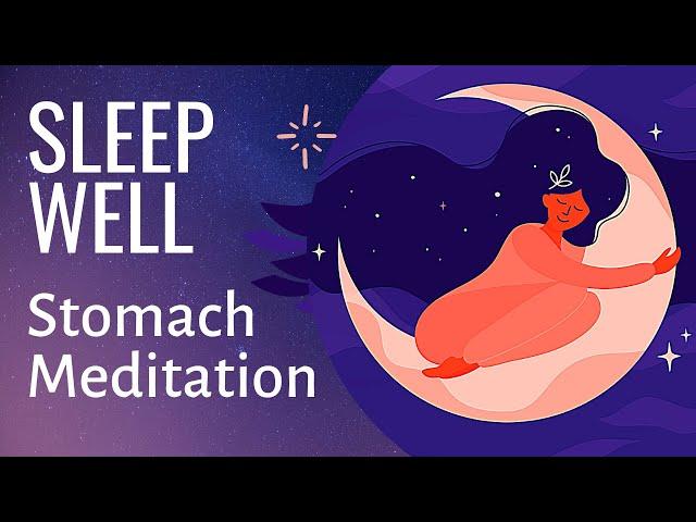 Guided Sleep Meditation for Digestive Health (female voice) | Deep Sleep Healing Meditation