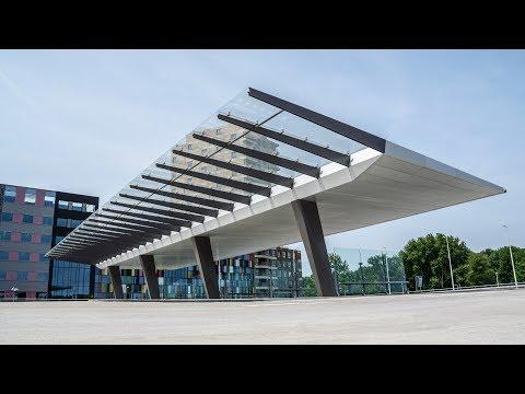 Hèt eindresultaat: Busstation Amsterdam Noord feestelijk geopend!