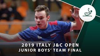Никита Мошков vs Gao Yang | Italy J&C Open 2019 (JBT Final)