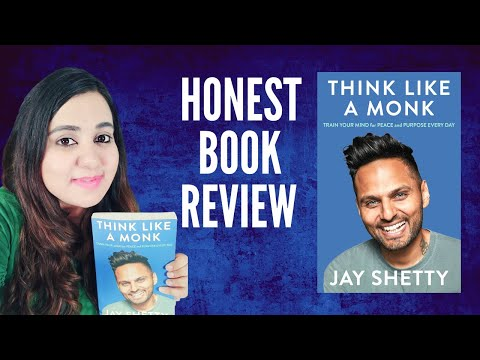 Think Like a Monk by Jay Shetty | HONEST Book Review | Find PEACE AND PURPOSE (and major learnings)