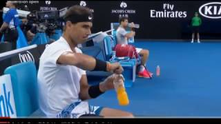 Australian Open 2017 Men's Semi Final Nadal vs Dimitrov