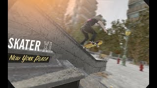 Skater XL: New York Plaza Montage (Realistic/Replay Editor)