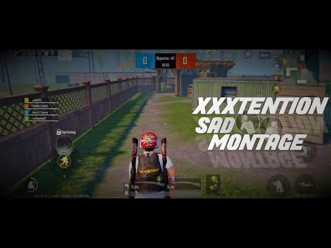 XXXTENTION SAD MONTAGE - PUBG MOBILE LITE