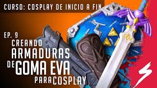 GOMA EVA / Foami: Cómo hacer ARMADURAS, Armas y escudos || Cosplay de Inicio a Fin || Sekkei Cosplay