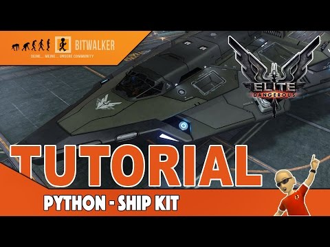 Elite Dangerous Python Ship Kit Cinemapichollu
