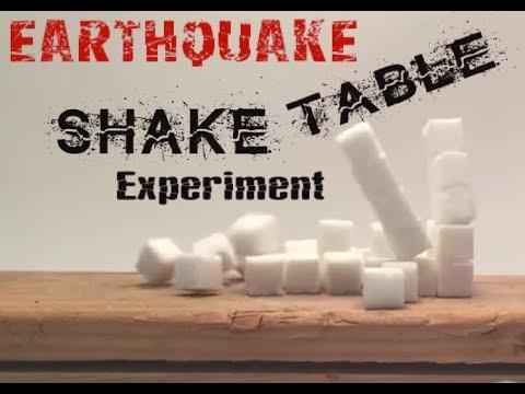 Earthquake Shake Table (Terremoto) Experiment